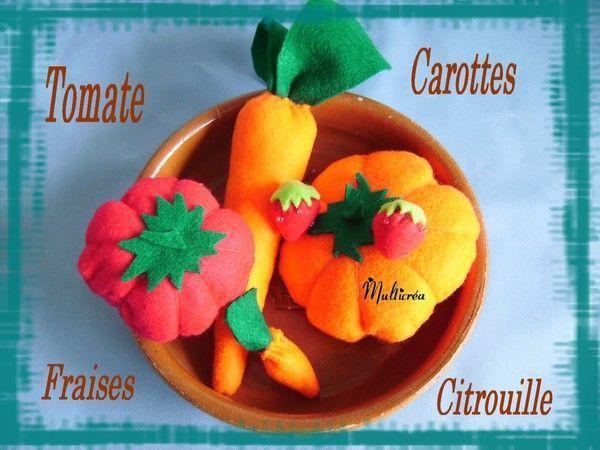 Bien connu de fruits et légumes. (1/4) PI06
