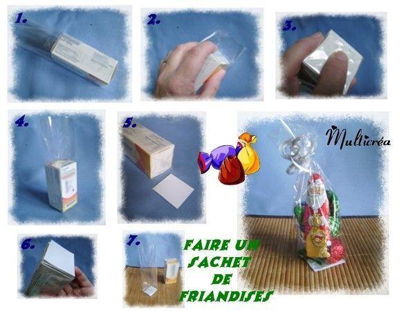Comment faire un sachet de friandises - Fabriquer des sachets de the ...
