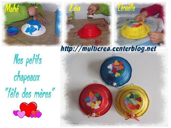 """Chapeaux """"fête des mères"""" 2014"""