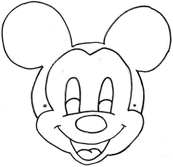 Comment fabriquer un masque de mickey la r ponse est sur - Comment faire un masque en papier ...