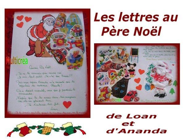 Lettres au p re no l - Pere noel maternelle ...