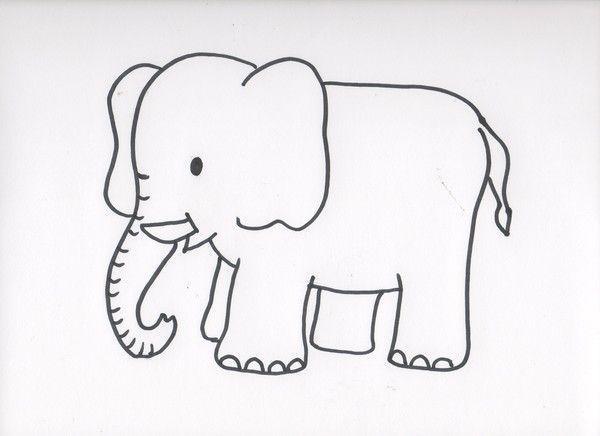 Pin coloriage magique elmer picture on pinterest - Coloriage magique elephant ...