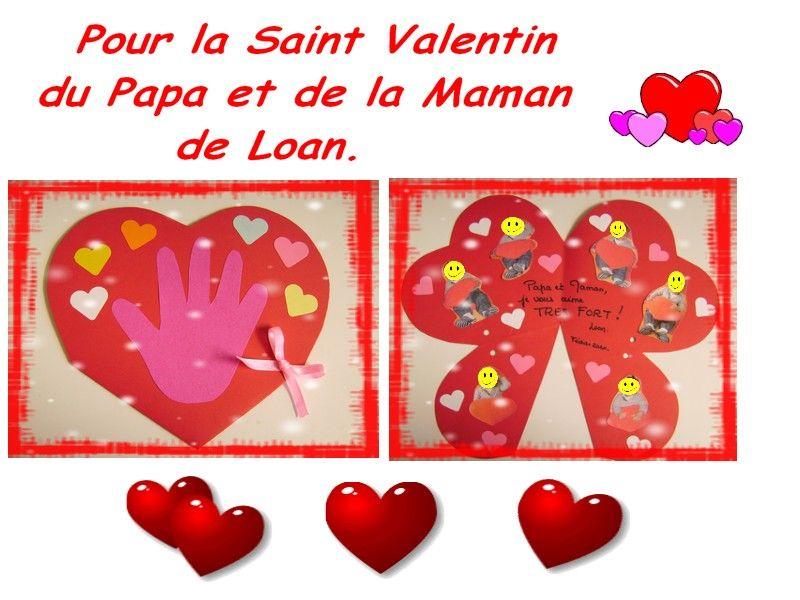 Activit s manuelles avec les enfants page 159 - Activite manuelle st valentin ...