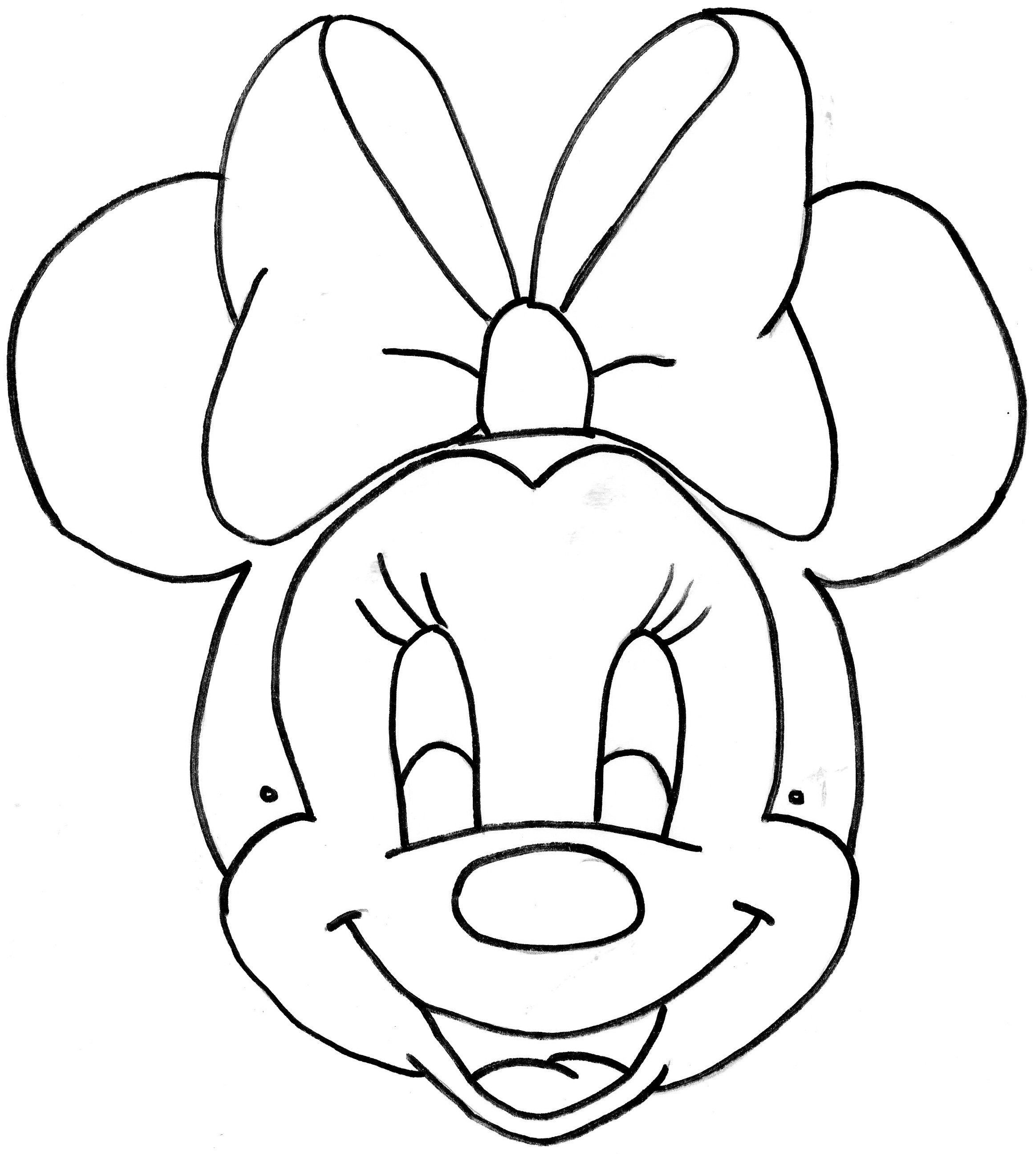 Unique image a colorier de minnie - Dessin de minie ...